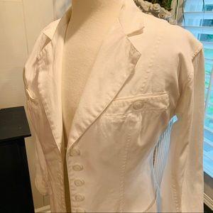 Darling Vintage White Jacket by Randy Kemper